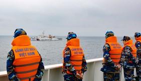 Kiểm tra liên hợp nghề cá Vịnh Bắc bộ giữa Việt Nam - Trung Quốc lần thứ 11 năm 2016
