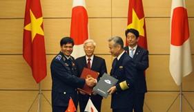 Cảnh sát biển Việt Nam và Lực lượng Bảo vệ bờ biển Nhật Bản ký kết Ghi nhớ hợp tác