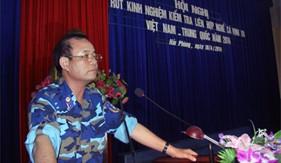 Vùng CSB 1 tổ chức Hội nghị rút kinh nghiệm Kiểm tra liên hợp nghề cá Vịnh Bắc bộ Việt Nam - Trung Quốc năm 2014