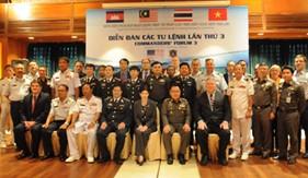 Hội nghị Tư lệnh lực lượng thực thi pháp luật trên biển các Quốc gia Vùng Vịnh Thái Lan lần thứ 3