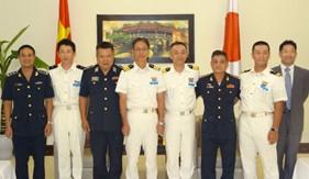 Tàu huấn luyện của Lực lượng bảo vệ bờ biển Nhật Bản thăm Đà Nẵng