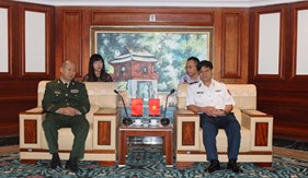 Cảnh sát biển Việt Nam và Cảnh sát biển Trung Quốc ký kết Bản ghi nhớ hợp tác