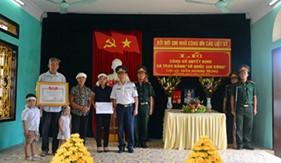 Công bố quyết định và trao bằng Tổ quốc ghi công tại Ninh Bình