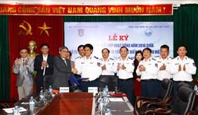 Bộ Tư lệnh Cảnh sát biển và Tổng cục biển và hải đảo Việt Nam ký kết kế hoạch phối hợp hoạt động năm 2016