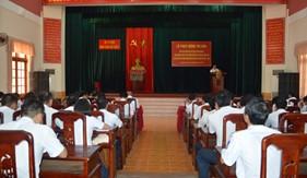 BTL Vùng Cảnh sát biển 2 tổ chức phát động thi đua trong bầu cử đại biểu Quốc hội khóa XIV và đại biểu Hội đồng nhân dân các cấp, nhiệm kỳ 2016 - 2021