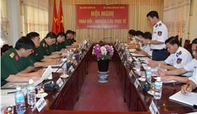 Đoàn công tác Học viện Chính trị nghiên cứu, khảo sát tại BTL Vùng Cảnh sát biển 2