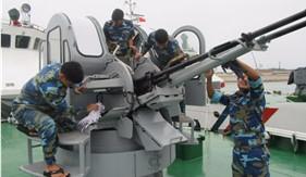 """""""Ngày kỹ thuật thanh niên tự quản"""" tại Hải đội 201/BTL Vùng Cảnh sát biển 2"""
