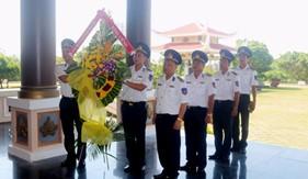 Tuổi trẻ Cảnh sát biển tri ân các anh hùng liệt sĩ
