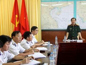 Kiểm tra công tác phổ biến giáo dục pháp luật của Vùng Cảnh sát biển 3