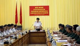 BTL Vùng Cảnh sát biển 4 sơ kết 1 năm thực hiện quy chế phối hợp giữa các lực lượng