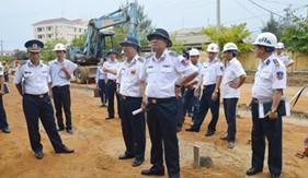 Tư lệnh Cảnh sát biển kiểm tra công tác xây dựng cơ bản và kết quả thực hiện nhiệm vụ Công tác Cảnh sát biển 7 tháng đầu năm 2016 tại BTL Vùng Cảnh sát biển 2