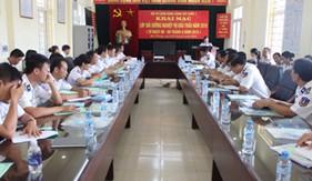 BTL Vùng Cảnh sát biển 1 tổ chức bồi dưỡng nghiệp vụ đấu thầu năm 2016