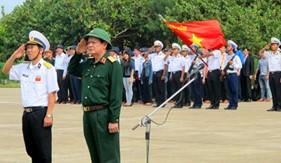 Thượng tướng Nguyễn Thành Cung kết thúc tốt đẹp chuyến thăm Trường Sa