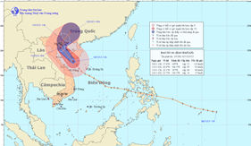 Bộ Tổng Tham mưu chỉ đạo các đơn vị đối phó với diễn biến phức tạp của bão 14