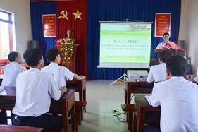 BTL Vùng Cảnh sát biển 2 bồi dưỡng kiến thức tàu thuyền cho đội ngũ chính trị viên tàu