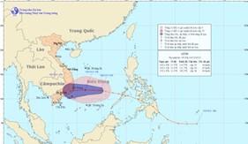 BTTM điện gửi các đơn vị về triển khai ứng phó áp thấp nhiệt đới