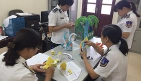 Phụ nữ BTL Vùng Cảnh sát biển 1 tổ chức các hoạt động chào mừng Đại hội phụ nữ Cảnh sát biển lần thứ II