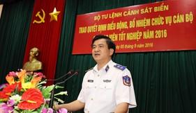 BTL Cảnh sát biển trao quyết định điều động, bổ nhiệm chức vụ cán bộ cho học viên tốt nghiệp năm 2016
