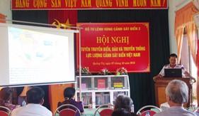 BTL Vùng Cảnh sát biển 2 tổ chức tuyên truyền biển, đảo tại Quảng Trị