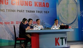 Bộ Tư lệnh Vùng Cảnh sát biển 2 phối hợp Đài Phát thanh - Truyền hình Quảng Nam tham gia Liên hoan Phát thanh toàn quốc lần thứ XII
