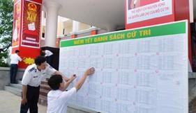 BTL Vùng Cảnh sát biển 1 chuẩn bị cho bầu cử đại biểu Quốc hội và Hội đồng nhân dân các cấp