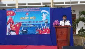 BTL Vùng Cảnh sát biển 3 tuyên truyền về biển đảo tại Ninh Hòa - Khánh Hòa