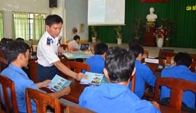 BTL Vùng Cảnh sát biển 3 tổ chức tuyên truyền biển, đảo tại Bình Thuận
