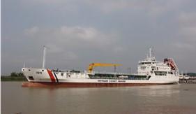Tàu lớn nhất của Lực lượng Cảnh sát biển sắp hoàn thiện