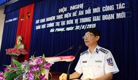 Đổi mới công tác giáo dục chính trị ở BTL Vùng Cảnh sát biển 1
