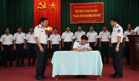 BTL Vùng Cảnh sát biển 4 thi đua lập thành tích chào mừng kỷ niệm 70 năm Cách mạng tháng Tám và Quốc khánh 2/9