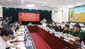 """BTL Cảnh sát biển tổ chức Hội thảo khoa học """"Nghiên cứu, xây dựng dự thảo Luật Cảnh sát biển Việt Nam"""""""