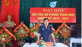 BTL Vùng Cảnh sát biển 1 tổ chức thành công Đại hội điểm Hội Phụ nữ cơ sở Phòng Tham mưu nhiệm kỳ 2016-2021