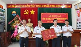 BTL Cảnh sát biển nhận bàn giao tàu TS 500CV