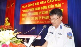 """Phát động Thi đua cao điểm """"70 ngày đêm hành động kiểu mẫu"""" và học tập gương hi sinh dũng cảm của Đại úy Phạm Văn Huy"""