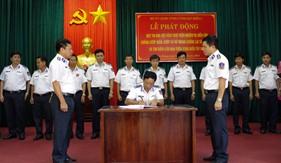 BTL Vùng Cảnh sát biển 4 phát động thi đua đột kích thực hiện nhiệm vụ diễn tập