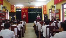 BTL Vùng Cảnh sát biển 1 tổ chức tập huấn các chuyên ngành kỹ thuật