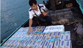 Cụm Trinh sát số 2 bắt giữ Cà Lơ máy chở thuốc lá lậu qua biên giới