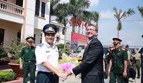Đoàn Bộ Quốc phòng Hoa Kỳ thăm và làm việc với Cảnh sát biển Việt Nam tại BTL Vùng Cảnh sát biển 1