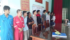 BTL Vùng Cảnh sát biển 3 phối hợp đấu tranh triệt phá tụ điểm mua bán, tổ chức sử dụng trái phép chất ma túy