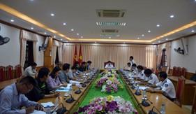 Tư lệnh Cảnh sát biển kiểm tra công tác xây dựng cơ bản tại BTL Vùng Cảnh sát biển 1
