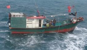 BTL Vùng CSB 1 thực hiện tốt nhiệm vụ tuyên truyền, yêu cầu tàu cá nước ngoài rời khỏi vùng biển chủ quyền nước ta