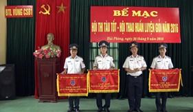 BTL Vùng Cảnh sát biển 1 tổ chức thành công Hội thi tàu tốt, Hội thao huấn luyện giỏi năm 2016