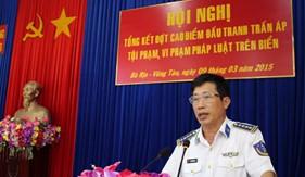 BTL Vùng CSB 3 tổng kết đợt cao điểm trấn áp tội phạm, vi phạm pháp luật trên biển