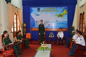 Trung tướng Nguyễn Trọng Nghĩa thăm và chúc Tết BTL Vùng Cảnh sát biển 2