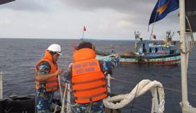 Thủ trưởng BTL Cảnh sát biển thăm, kiểm tra BTL Vùng Cảnh sát biển 2