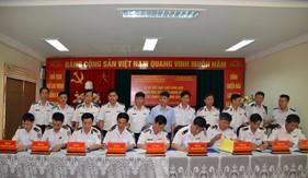 BTL Vùng Cảnh sát biển 1 ký Quy chế phối hợp hoạt động với Cảng vụ Hàng hải 8 tỉnh, thành phía Bắc