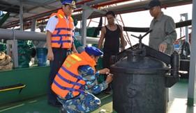 Phó Thủ tướng biểu dương BTL Vùng Cảnh sát biển 4