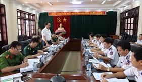 Ban chỉ đạo 389 Quốc gia làm việc với BTL Cảnh sát biển