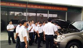 Tập huấn nghiệp vụ ngành Xe - máy của Cục Kỹ thuật Cảnh sát biển