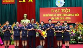 Đại hội đại biểu Phụ nữ BTL Cảnh sát biển lần thứ II (2016-2021) thành công tốt đẹp